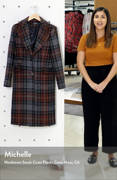 Plaid Reefer Coat, sales video thumbnail