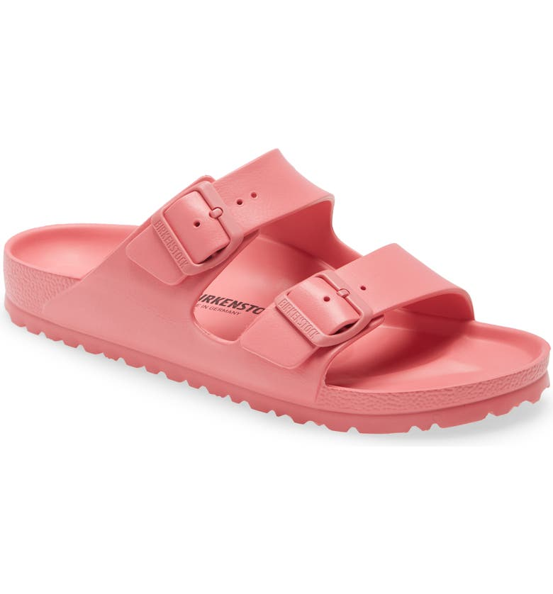 BIRKENSTOCK Essentials Arizona Waterproof Slide Sandal, Main, color, WATERMELON RUBBER
