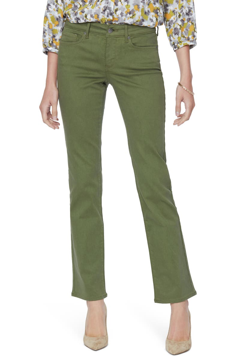 NYDJ Marilyn Straight Leg Stretch Jeans, Main, color, 020