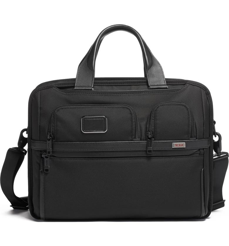 TUMI Alpha 3 Collection T-Pass<sup>®</sup> Briefcase, Main, color, 001