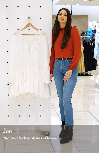 Endless Summer by Free People Something Special Long Sleeve Minidress, sales video thumbnail