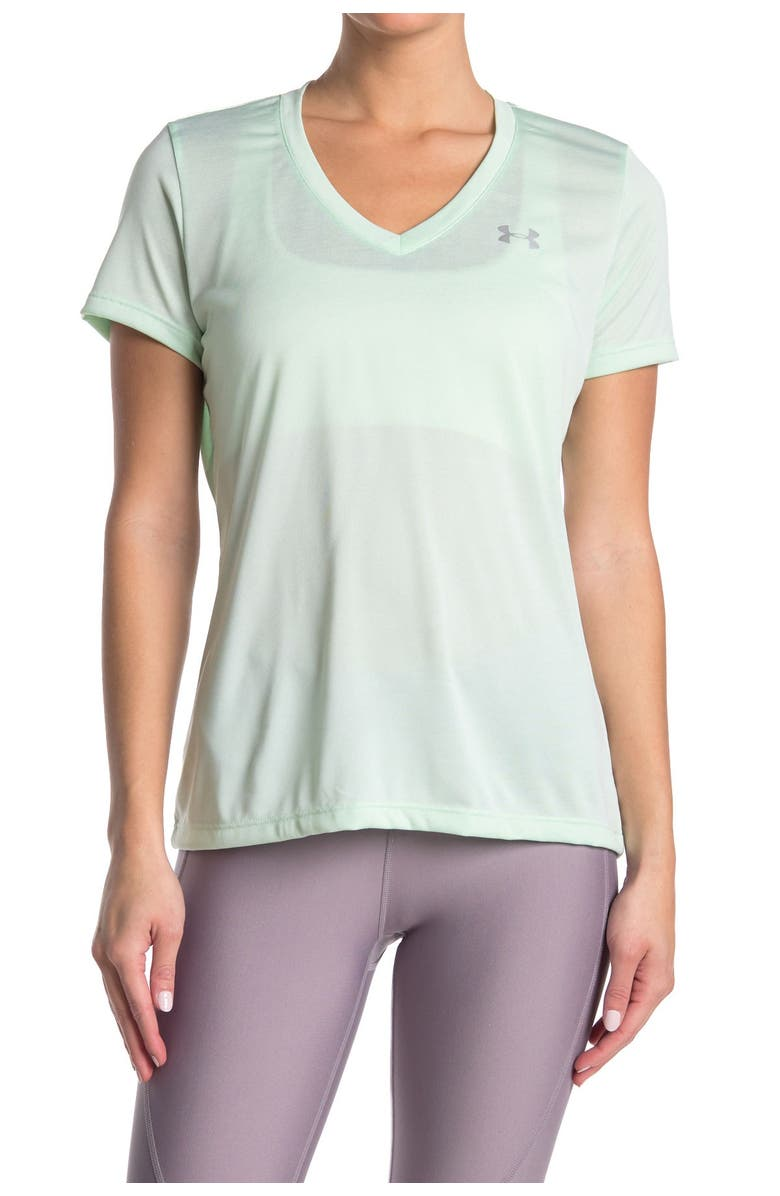 UNDER ARMOUR 'Twisted Tech' Tee, Main, color, 403