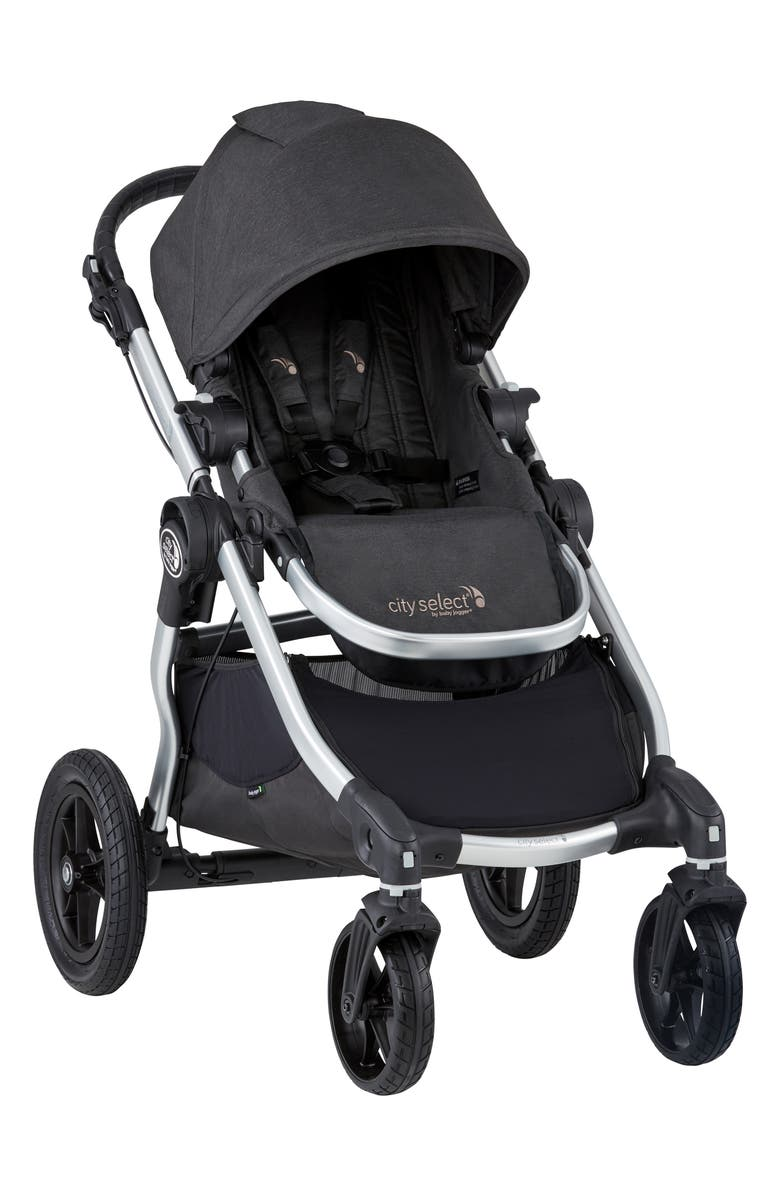 BABY JOGGER City Select<sup>®</sup> Fashion Edition Stroller, Main, color, JET