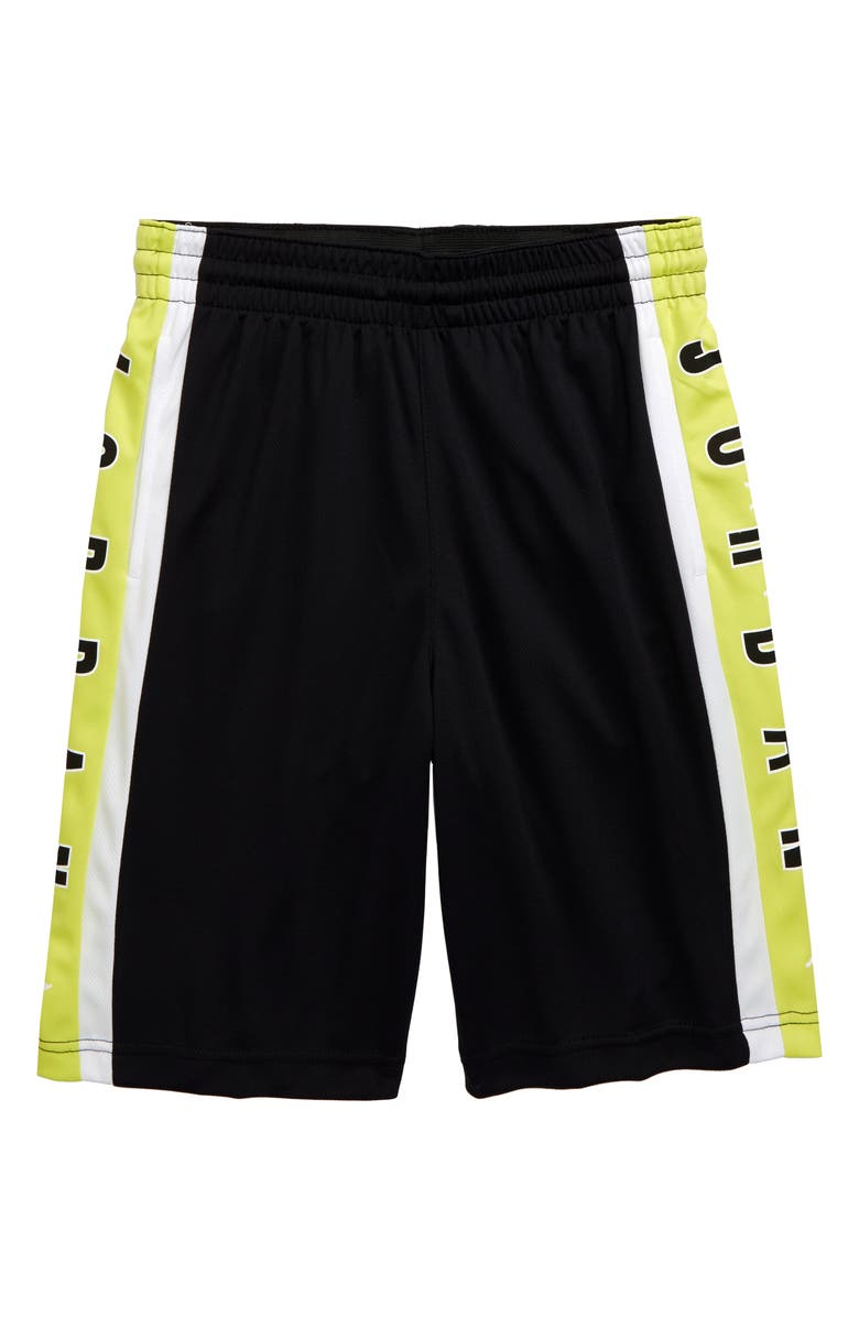 JORDAN Rise3 Dri-FIT Basketball Shorts, Main, color, 001