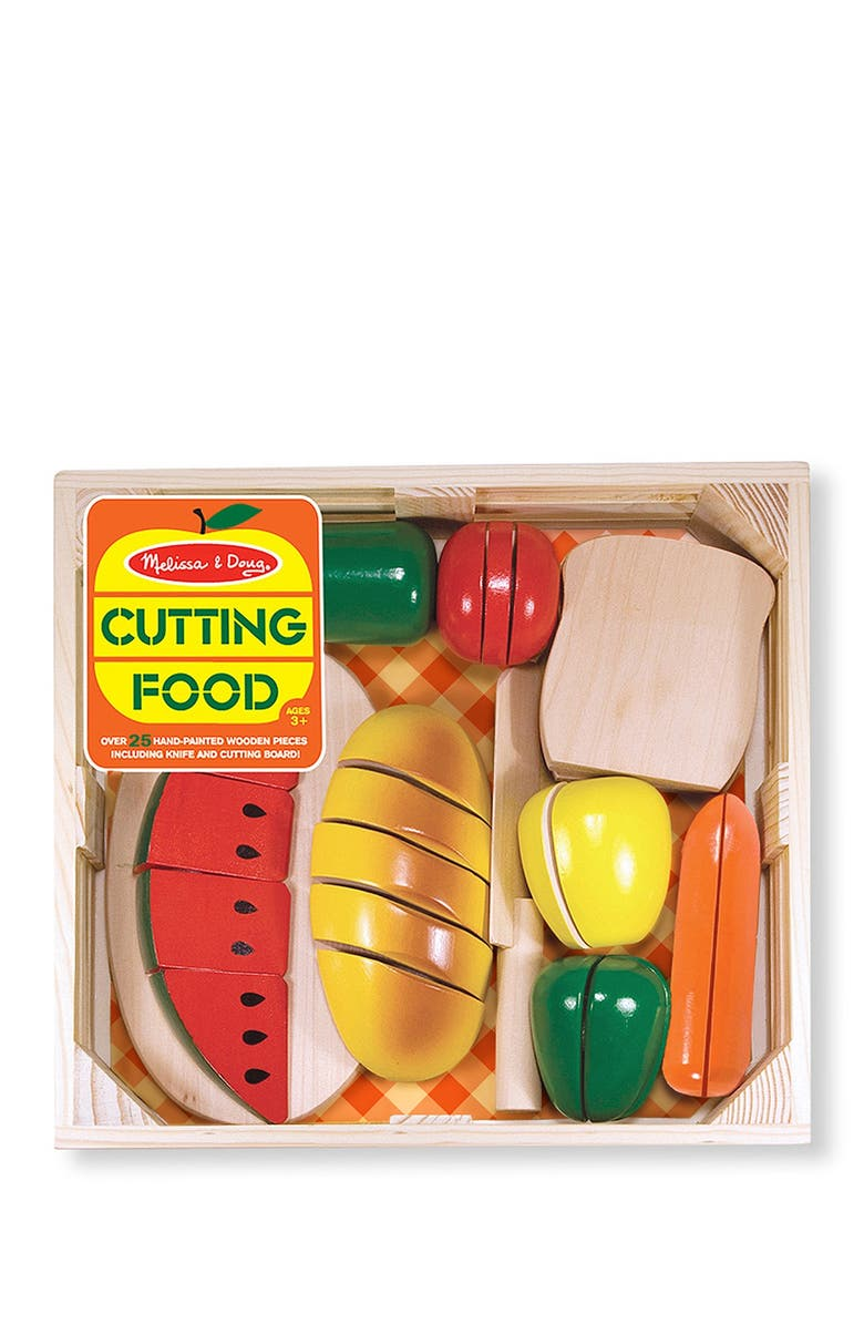 MELISSA AND DOUG Cutting Food Crate, Main, color, 000