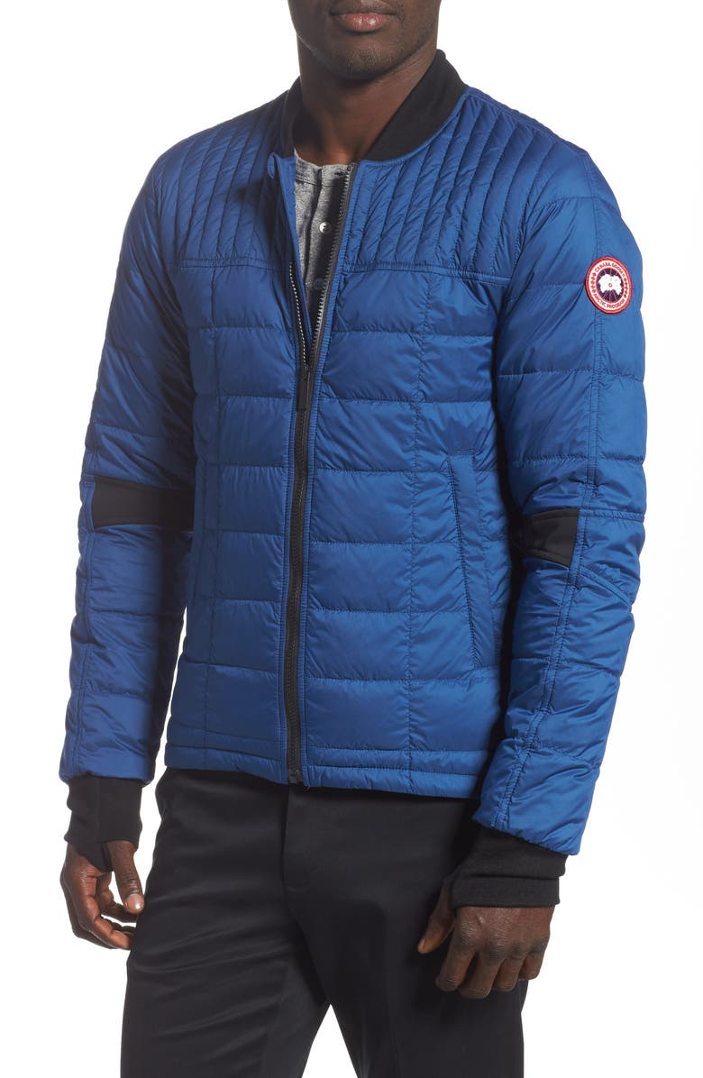 CANADA GOOSE Dunham Slim Fit Packable Down Jacket, Main, color, NORTHERN NIGHT