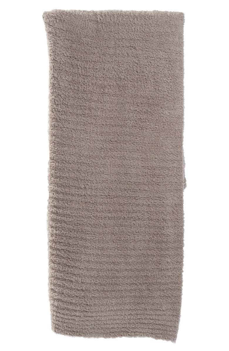BAREFOOT DREAMS<SUP>®</SUP> CozyChic<sup>®</sup> Ribbed Throw Blanket, Main, color, SAND