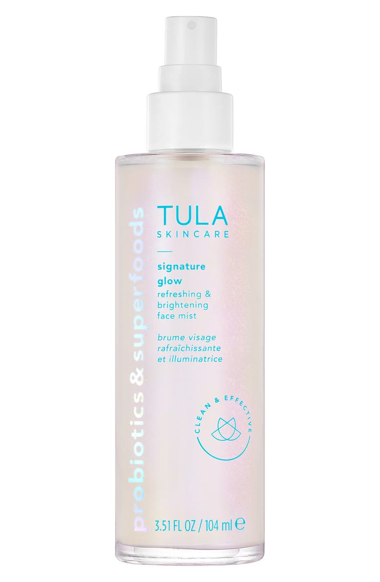 TULA SKINCARE Signature Glow Refreshing & Brightening Face Mist, Main, color, NO COLOR