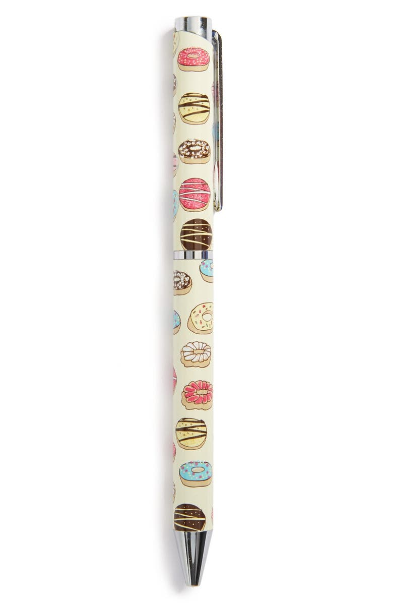 PJ SALVAGE 'Donuts' Pen, Main, color, White