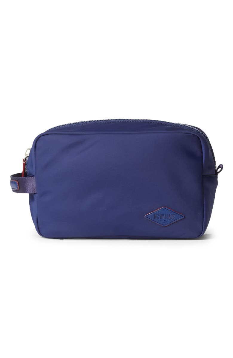 MZ WALLACE Bleecker Nylon Dopp Kit, Main, color, AEGEAN