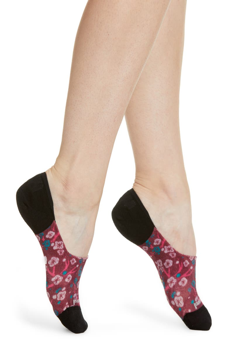 SMARTWOOL Curated Cherry No-Show Socks, Main, color, 900