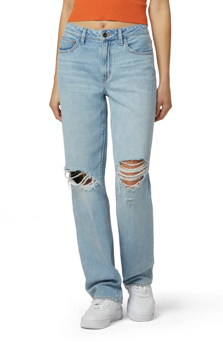 FAVORITE DAUGHTER The Tommy Ripped Boyfriend Jeans, Main, color, MUNICH