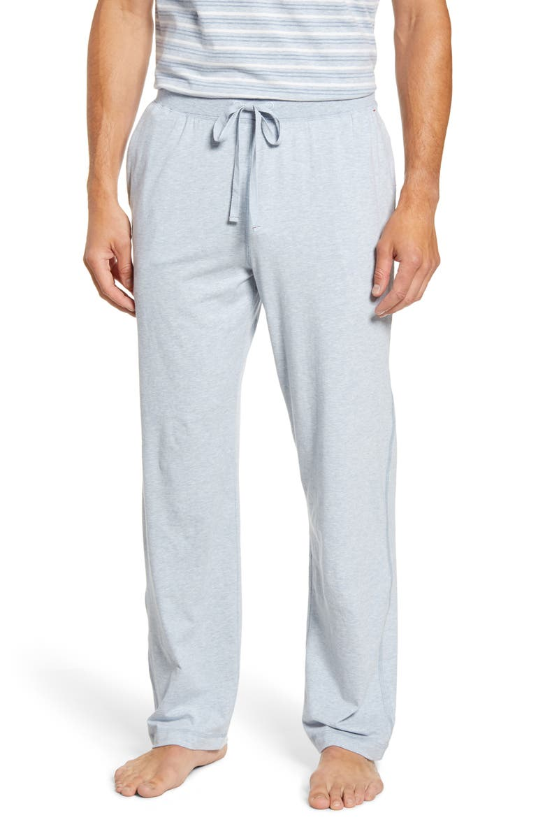 DANIEL BUCHLER Stretch Cotton & Modal Pajama Pants, Main, color, 406