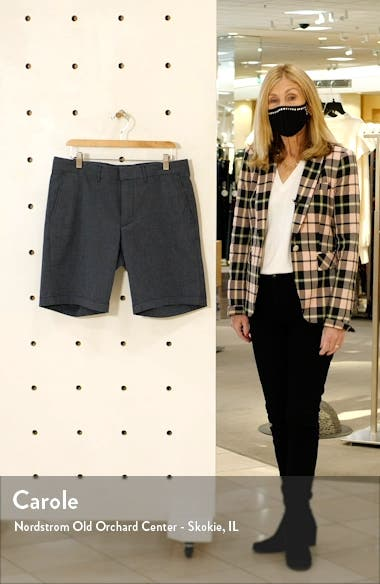Slim Fit CoolMax<sup>®</sup> Flat Front Performance Chino Shorts, sales video thumbnail