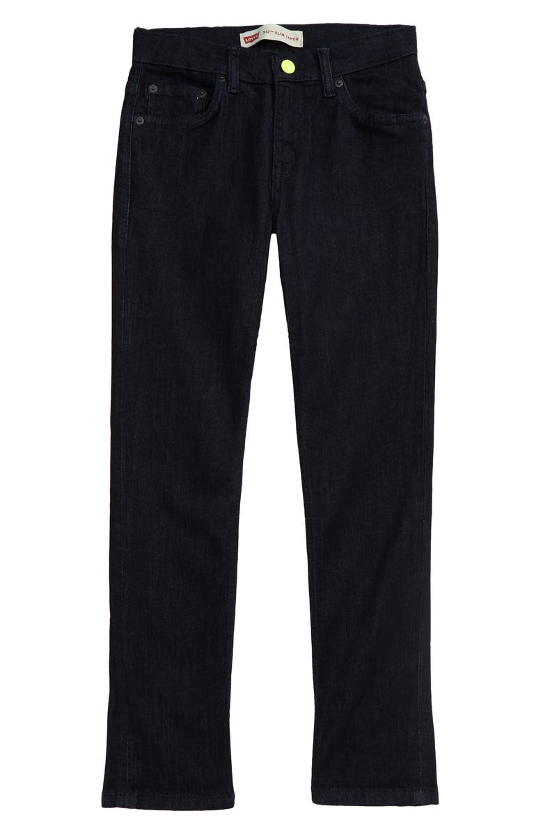 LEVI'S<SUP>®</SUP> Kids' Play All Day Slim Tapered Leg Jeans, Main, color, RINSE