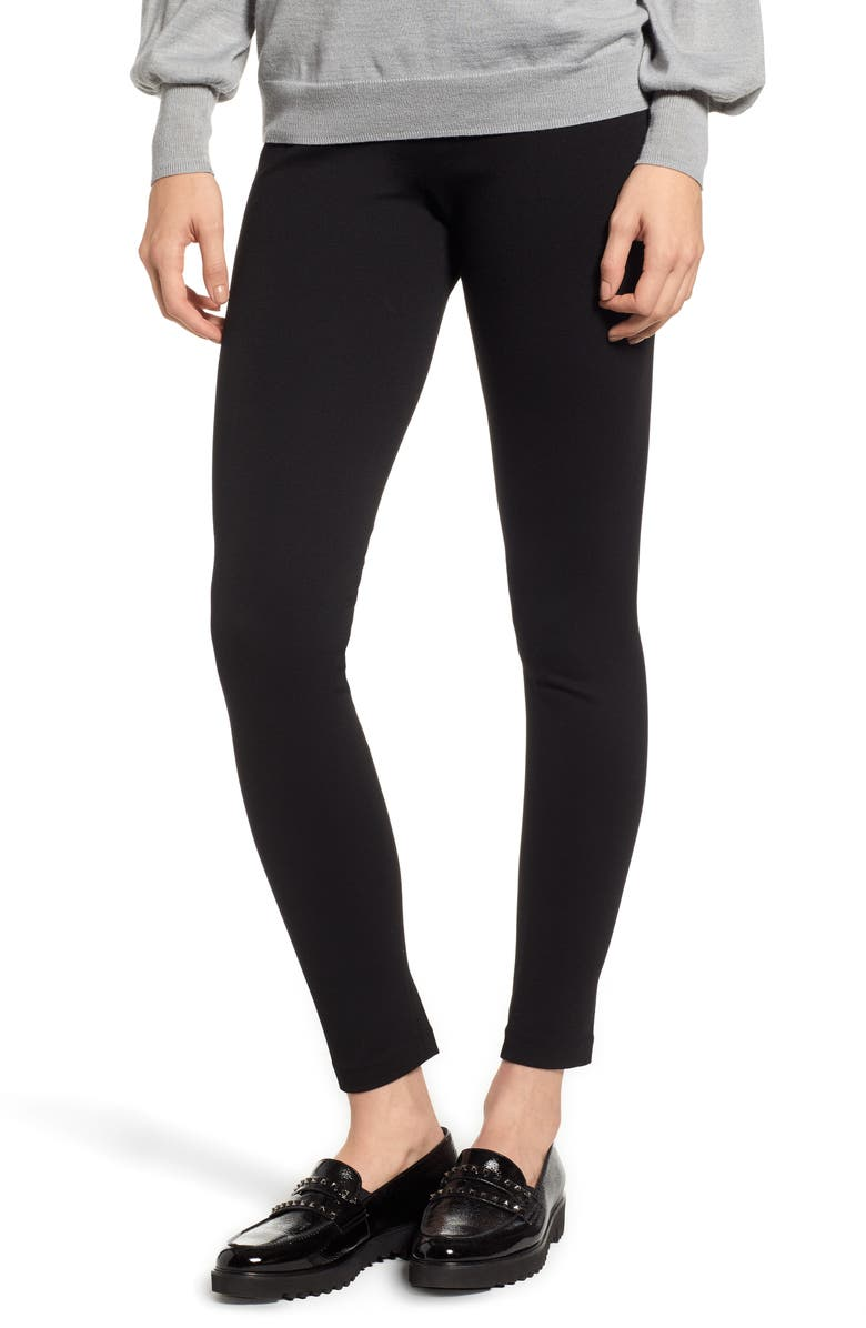 VINCE CAMUTO Two by Vince Camuto Seamed Back Leggings, Main, color, 001