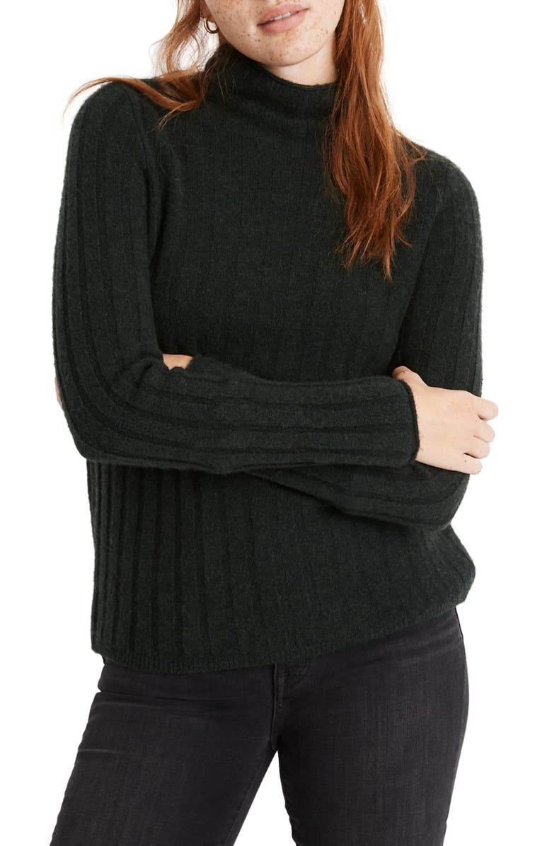 MADEWELL Evercrest Turtleneck Sweater, Main, color, 300
