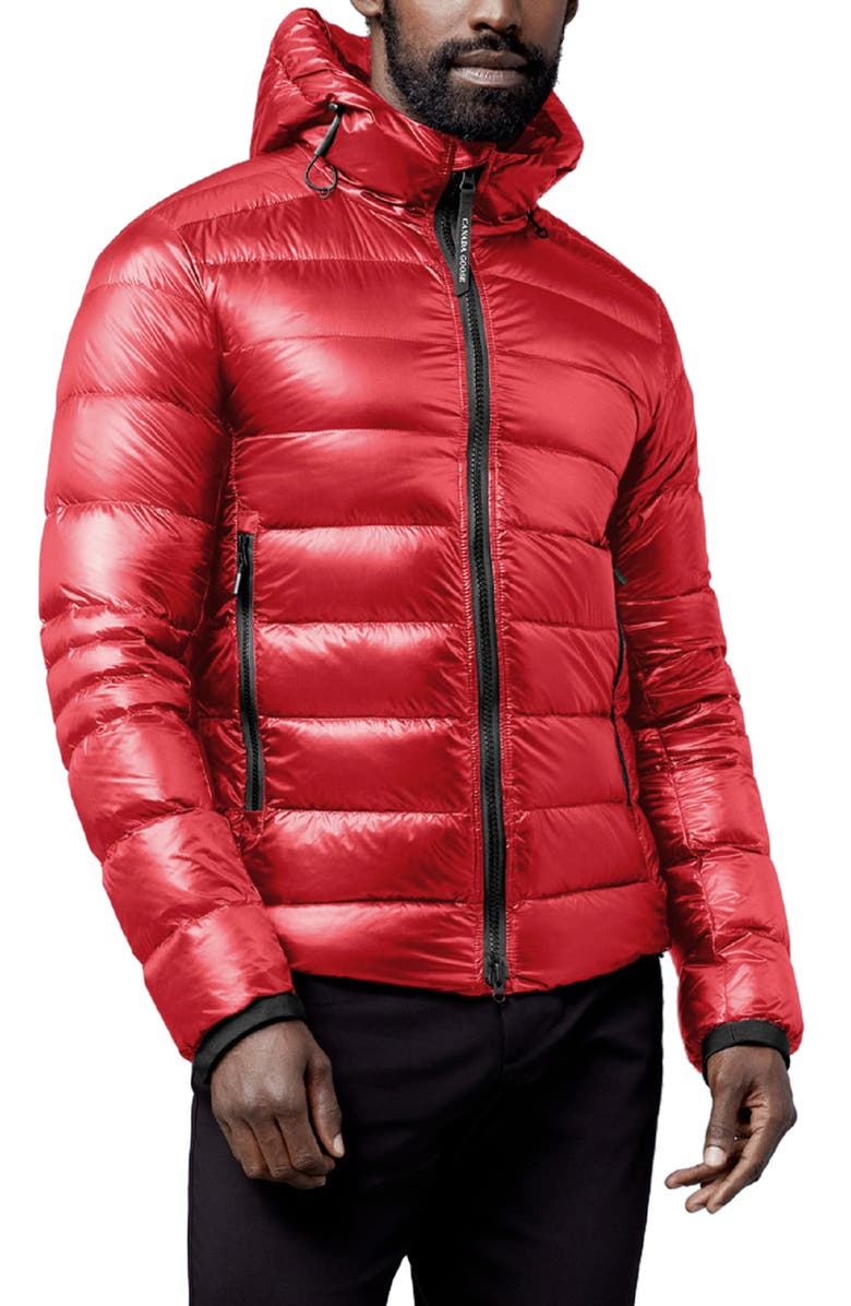 CANADA GOOSE Crofton Water Resistant Packable Quilted 750-Fill-Power Down Jacket, Main, color, RED