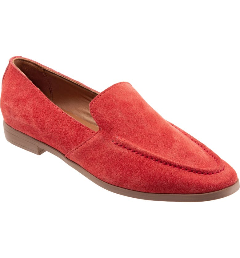 BUENO Galen Flat, Main, color, POMEGRANATE SUEDE
