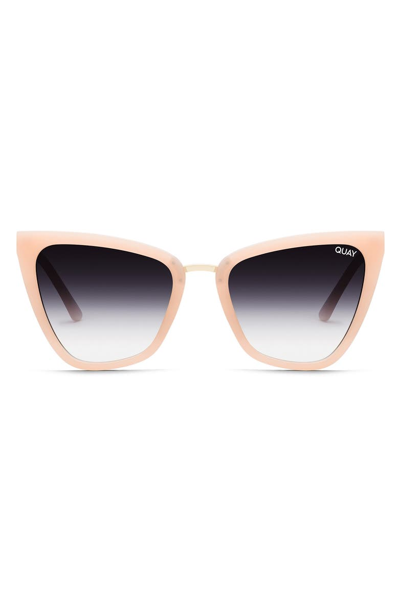 QUAY AUSTRALIA Reina 51mm Gradient Cat Eye Sunglasses, Main, color, 261