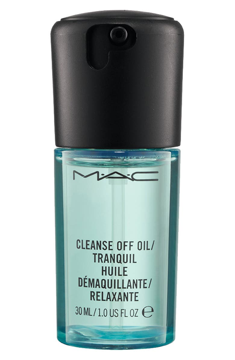 MAC COSMETICS MAC 'Sized to Go - Mini' Tranquil Cleanse Off Oil, Main, color, 000