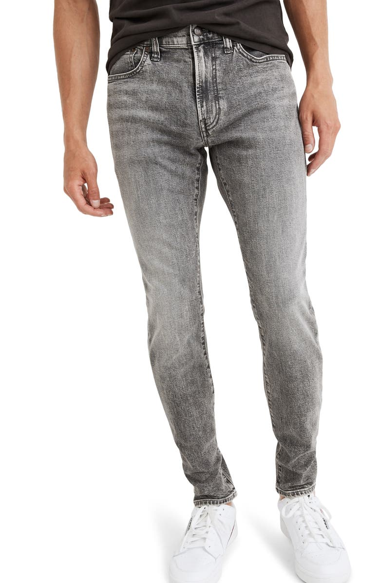 MADEWELL Skinny Authentic Flex Jeans, Main, color, 020