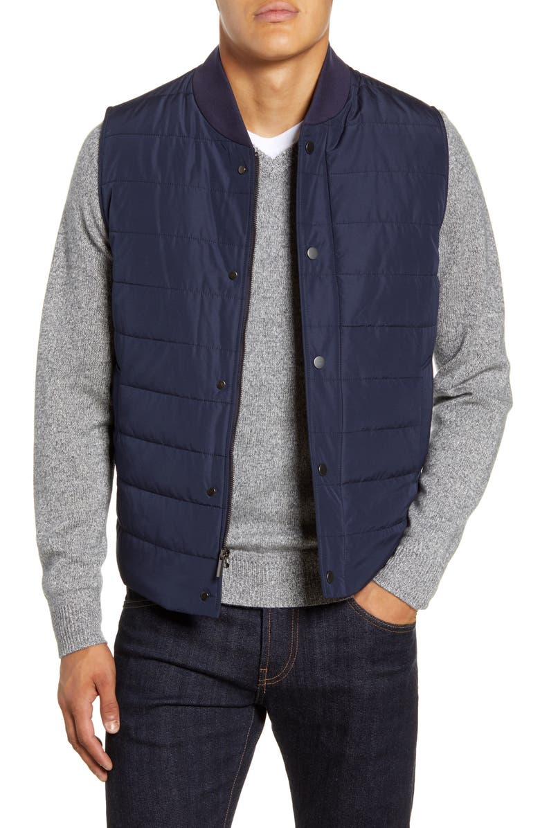 NORDSTROM SIGNATURE Quilted Vest, Main, color, 401
