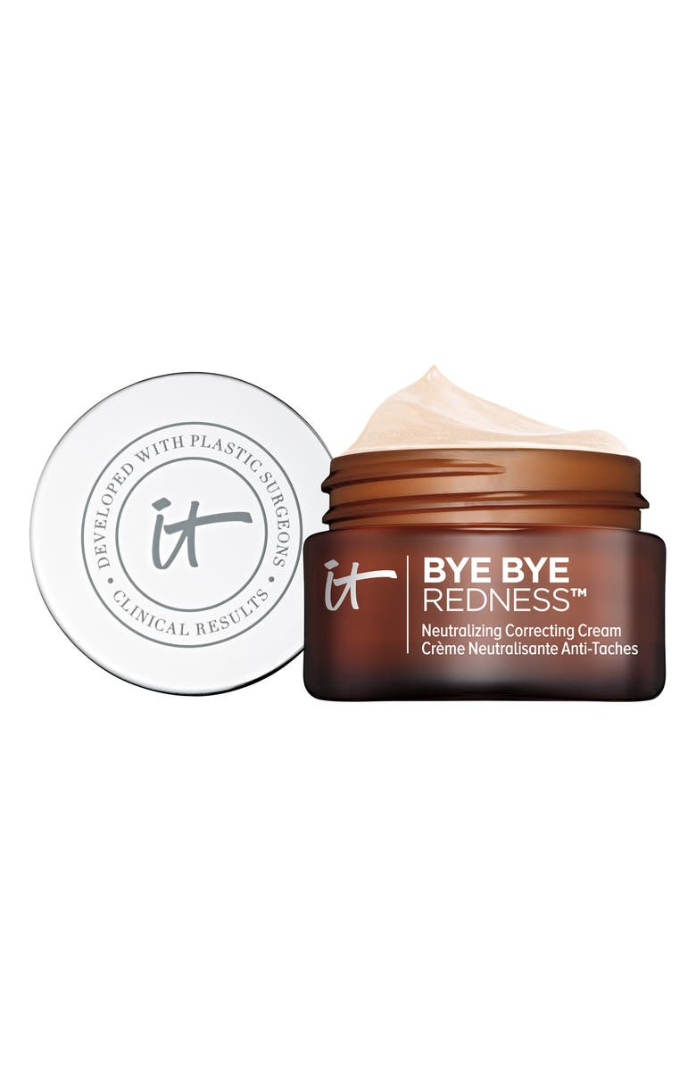 IT COSMETICS Bye Bye Redness Neutralizing Color-Correcting Cream, Main, color, TRANSFORMING PORCELAIN BEIGE