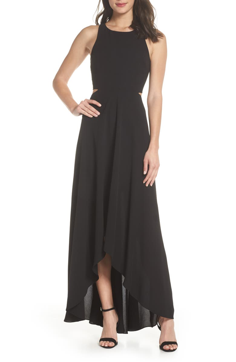 ALI & JAY Cutout Maxi Dress, Main, color, 001