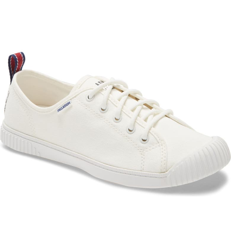 PALLADIUM Easy Lace Low Top Sneaker, Main, color, STAR WHITE