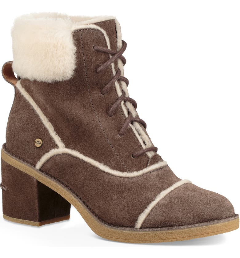 UGG<SUP>®</SUP> Esterly Genuine Shearling Boot, Main, color, 211
