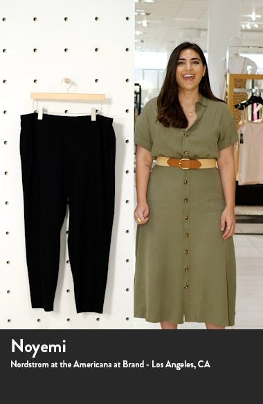 Stretch Crepe Slim Ankle Pants, sales video thumbnail