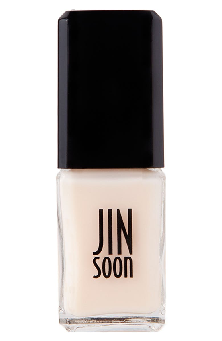 JINSOON 'Tulle' Nail Lacquer, Main, color, TULLE