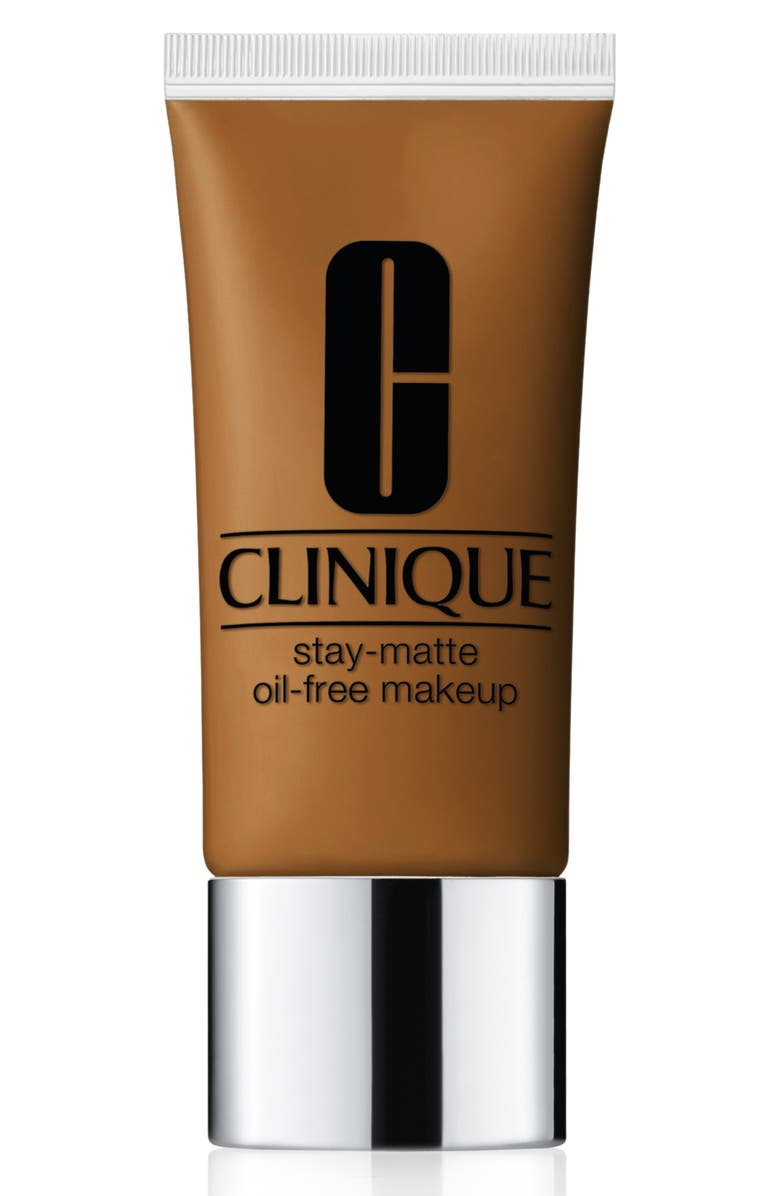 CLINIQUE Stay-Matte Oil-Free Makeup Foundation, Main, color, 26 AMBER