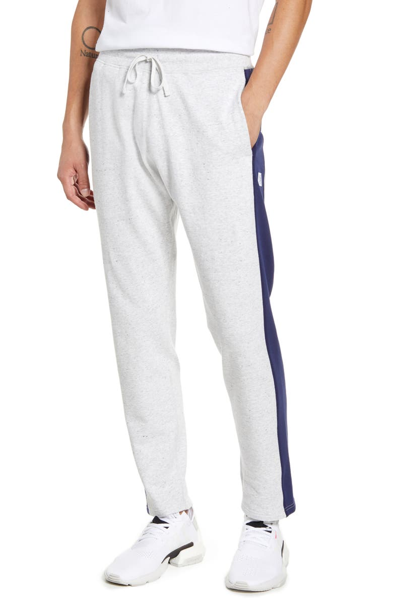 REIGNING CHAMP Stripe French Terry Sweatpants, Main, color, 271