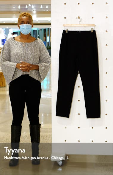 Everyday Skinny Fit Stretch Cotton Ankle Pants, sales video thumbnail