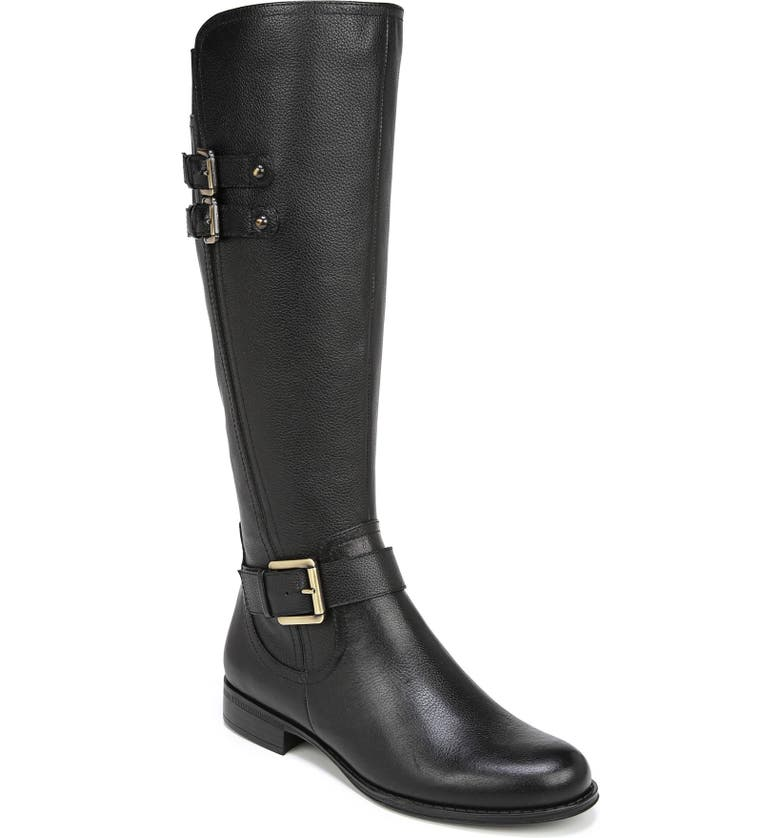 NATURALIZER Jessie Knee High Riding Boot, Main, color, 001
