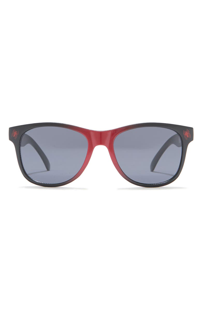 PAN OCEANIC EYEWEAR Spider-Man Sunglasses & Carabiner Pouch Set, Main, color, RED