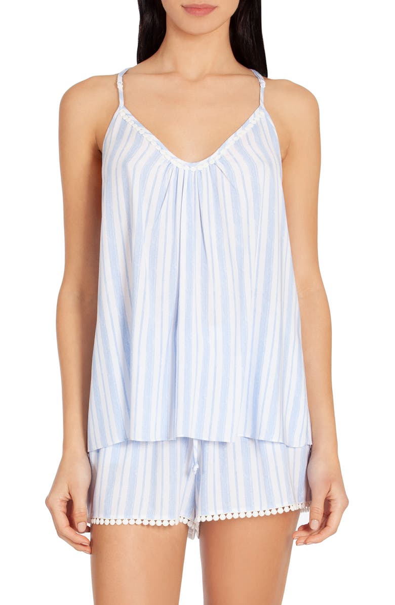 IN BLOOM BY JONQUIL Stripe Short Pajamas, Main, color, 400