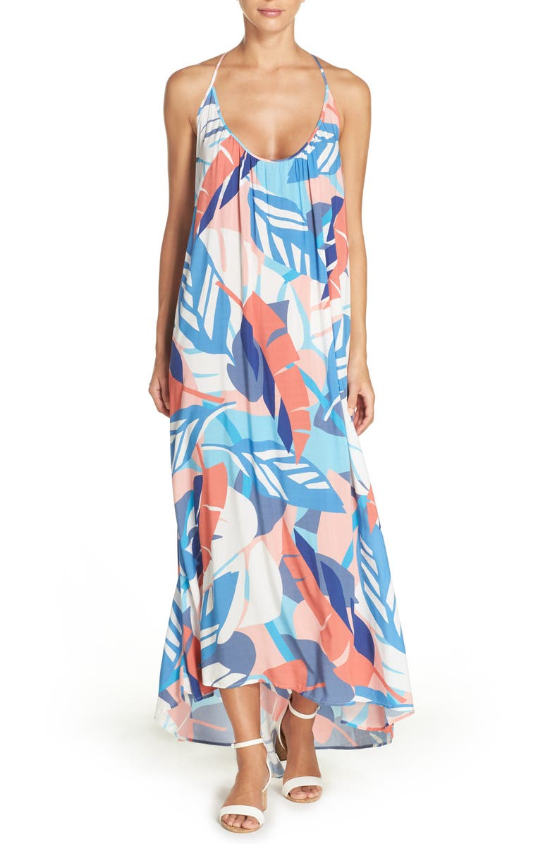 VINCE CAMUTO Cover-Up Maxi Dress, Main, color, 119