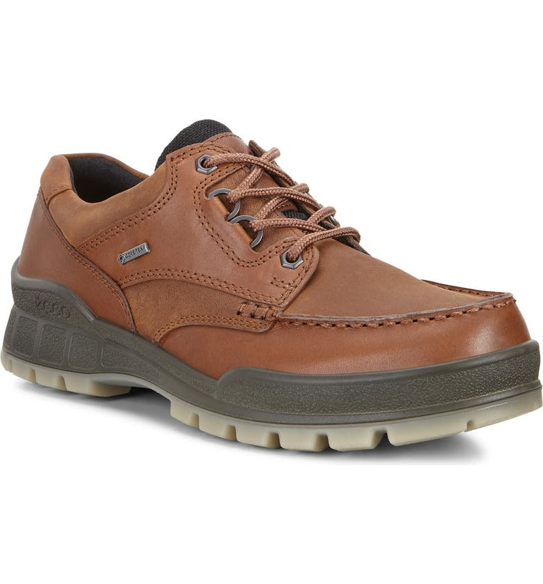 ECCO Track 25 Waterproof Moc Toe Derby, Main, color, BISON/ BISON