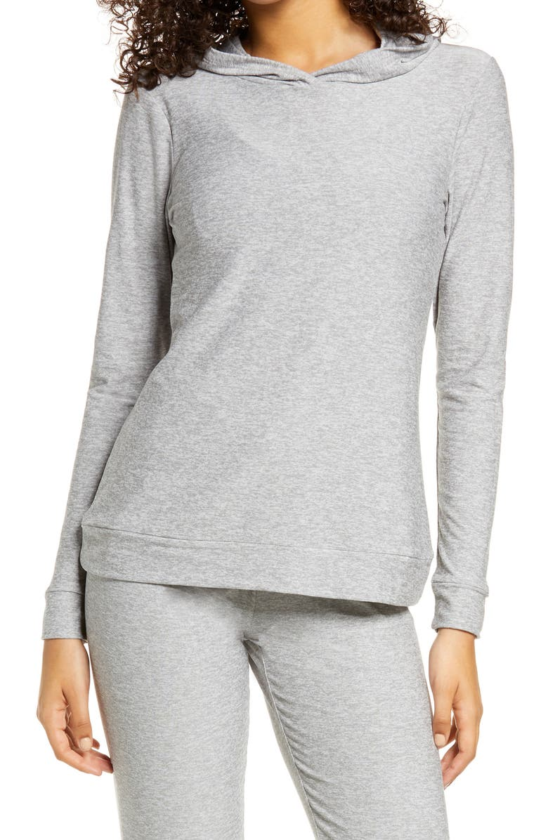 BEYOND YOGA Day & Night Hoodie, Main, color, SILVER MIST