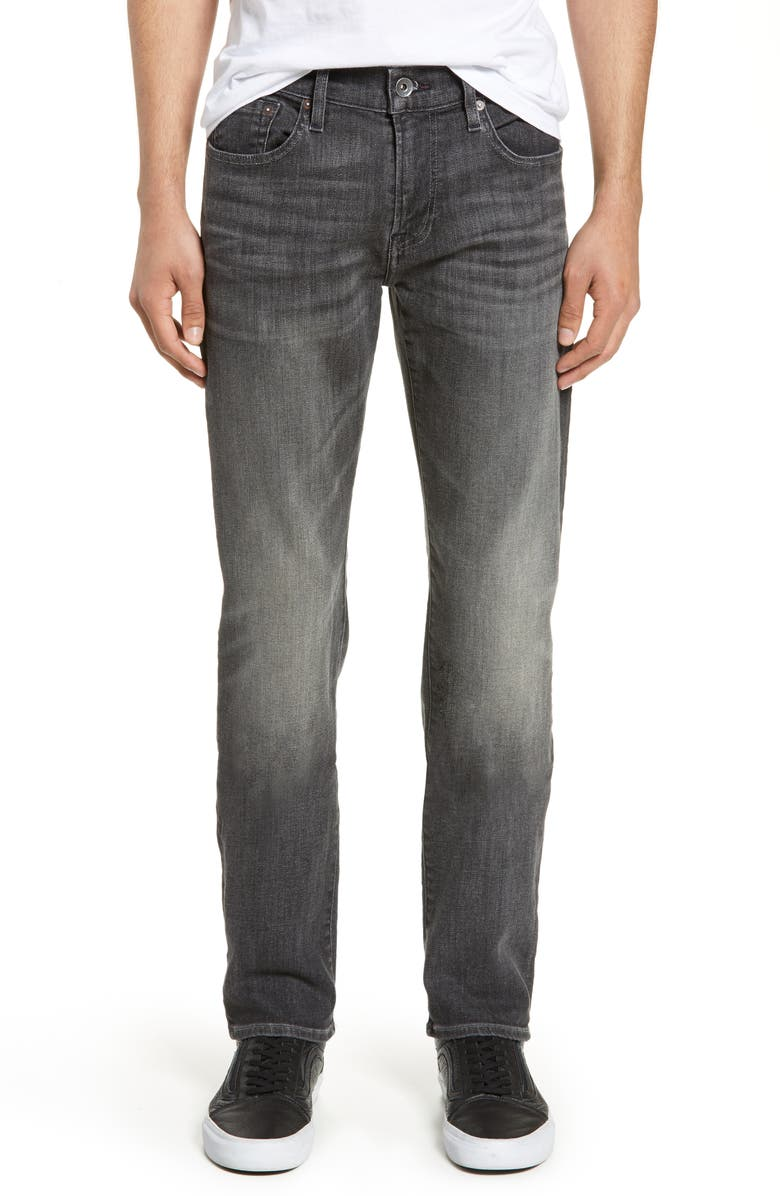 7 FOR ALL MANKIND<SUP>®</SUP> Slimmy Slim Fit Jeans, Main, color, 001