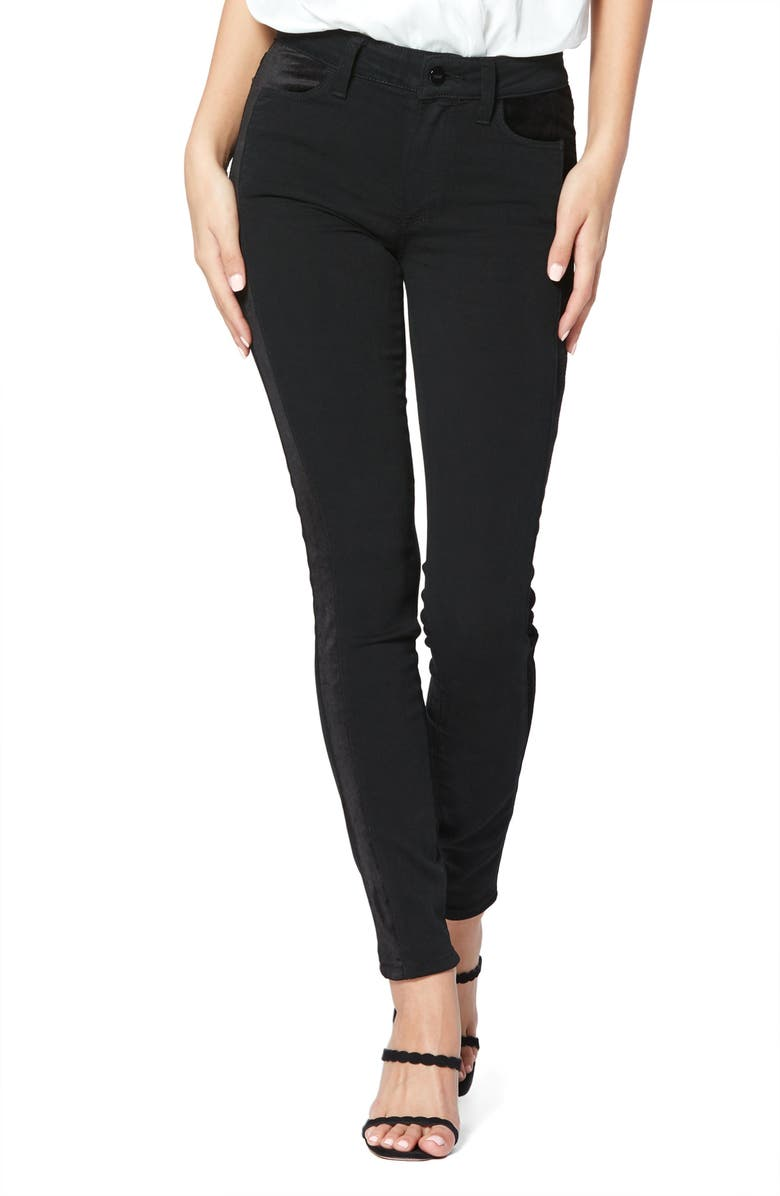 PAIGE Transcend - Hoxton High Waist Ultra Skinny Jeans, Main, color, 001