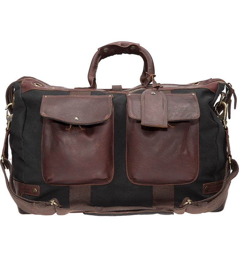 WILL LEATHER GOODS Traveler Duffel Bag, Main, color, 002