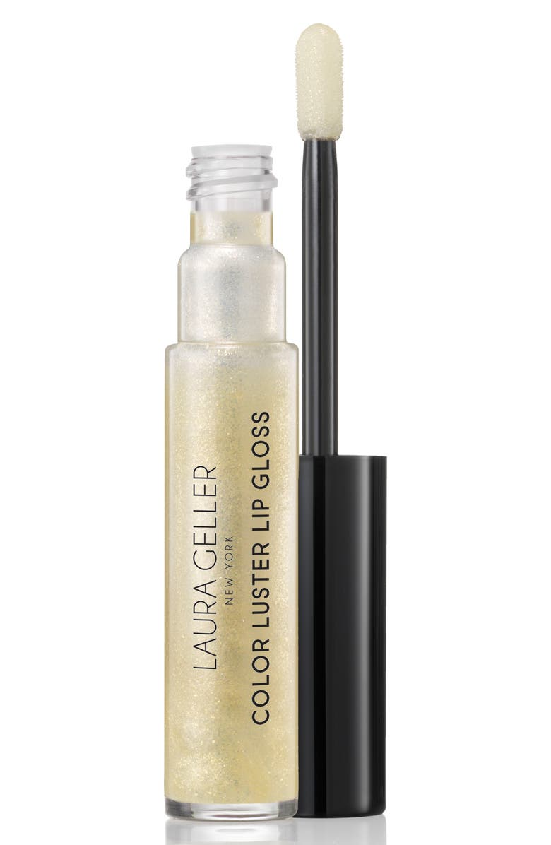 LAURA GELLER BEAUTY Color Luster Lip Gloss - Cookie, Main, color, 900