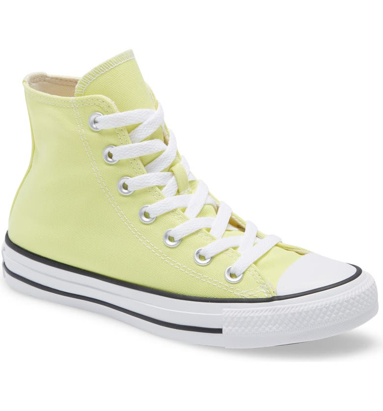 CONVERSE Chuck Taylor<sup>®</sup> All Star<sup>®</sup> High Top Sneaker, Main, color, LIGHT ZITRON