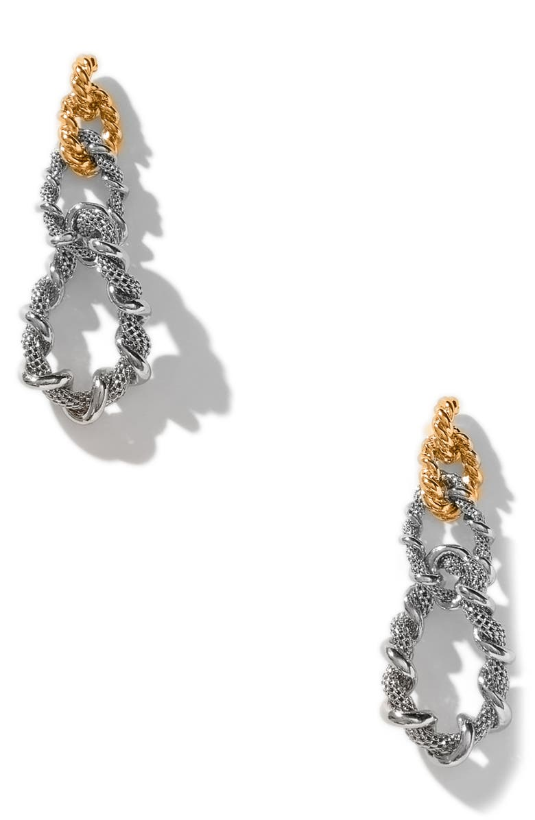 8 OTHER REASONS x Jenn Im Marlow Earrings, Main, color, GOLD AND SILVER