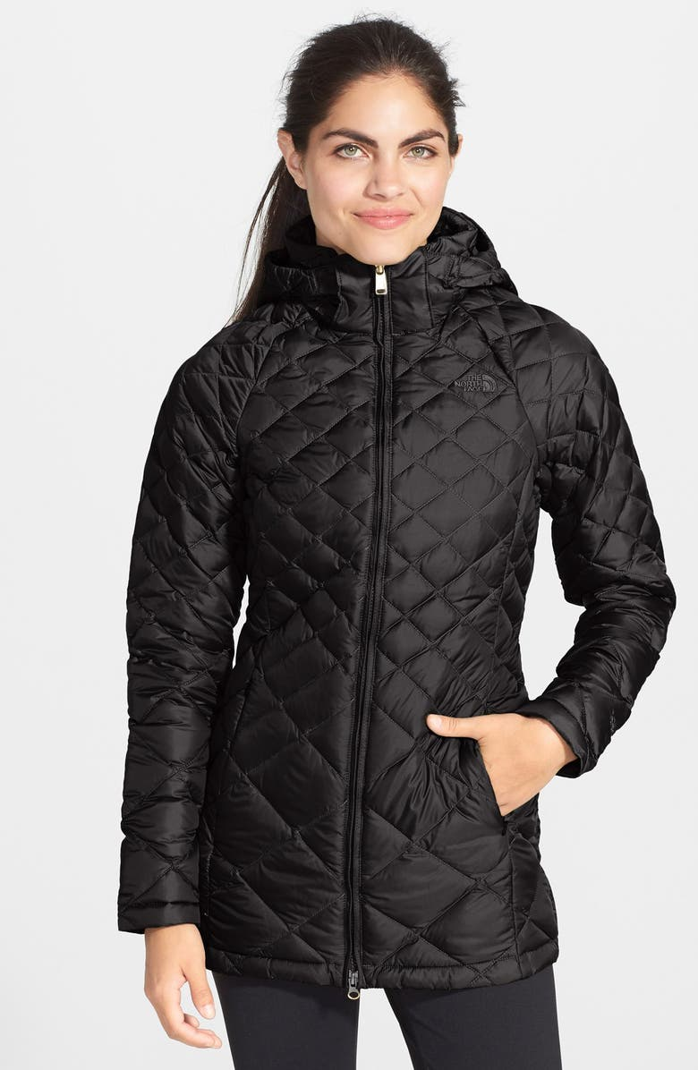 THE NORTH FACE 'Transit' Down Jacket, Main, color, TNF BLACK