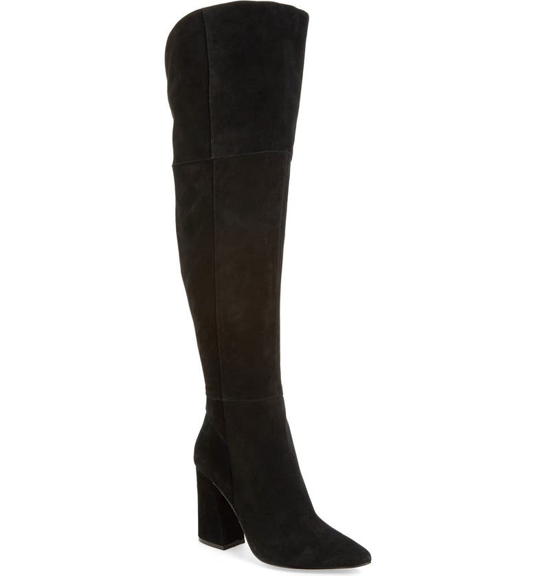 KRISTIN CAVALLARI 'Saffron' Over the Knee Boot, Main, color, 001